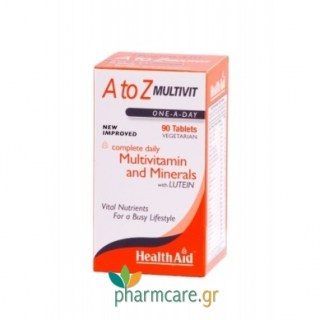 Health Aid A to Z Multivit 90tabs