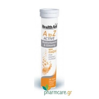 Health Aid A to Z Active Co10 20tabs