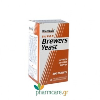 Health Aid Brewers Yeast 500tabs