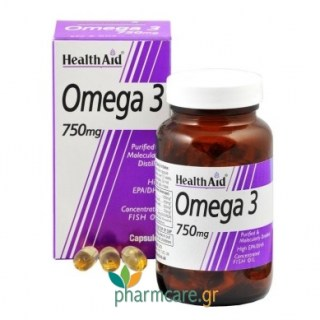 Health Aid Omega 3 750mg 60caps