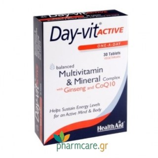 Health Aid Day-Vit Active Co Q10 30tabs
