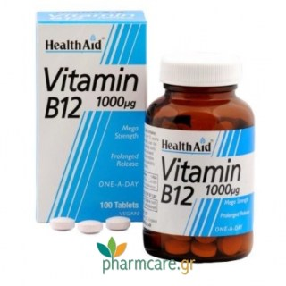 Health Aid Vitamin B12 1000mg 50tabs