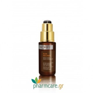 Korff Sun Secret After Sun Moisturizing And Repairing Drops Αντιηλιακό Προσώπου 30ml