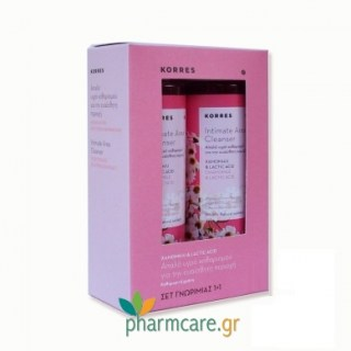 Korres Intimate Area Cleanser Χαμομήλι & Lactic Acid 250ml 1+1 ΔΩΡΟ