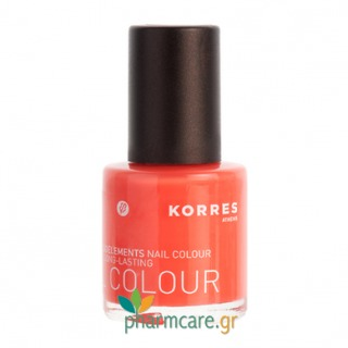 Korres Μυρο & Ιχνοστοιχεία - Nail Colour 44 coral hibiscus 10ml