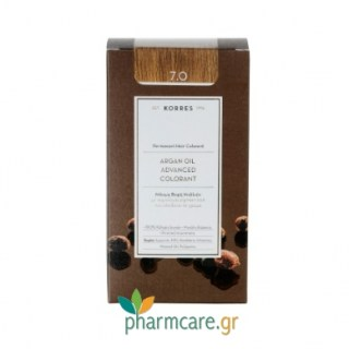Korres Argan Oil Advanced Colorant 7.0 Ξανθό Φυσικό 50ml