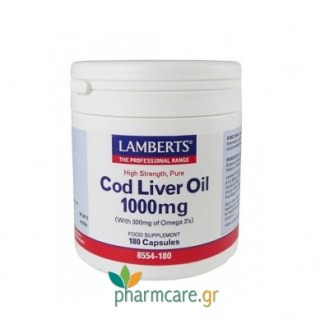 Lamberts Cod Liver Oil 1000 mg 180caps