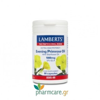 Lamberts Evening Primrose Oil with Starflower Oil 1000mg 90caps