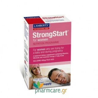 Lamberts StrongStart for Women 30caps + 30tabs