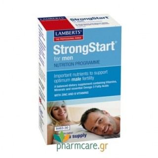 Lamberts StrongStart for Men 30caps + 30tabs
