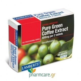 Lamberts Pure Green Coffee Extract 60tabs