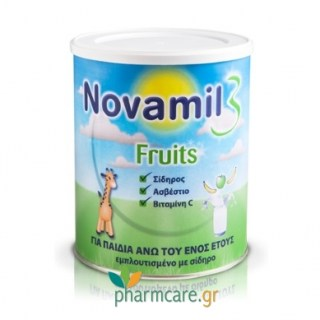 Novalac Novamil 3 Fruits 800g