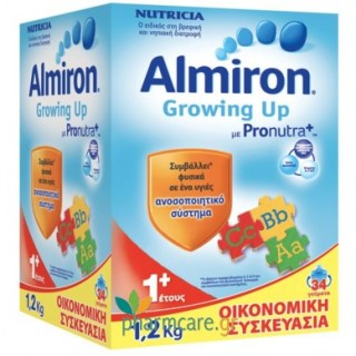Nutricia Γάλα Almiron Growing Up 1+ 1,2kg