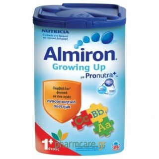 Nutricia Almiron Growing Up 1+ Γάλα Για Νήπια 1+ Έτους 800gr