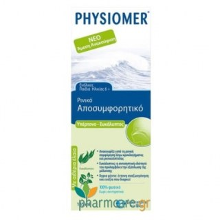 Physiomer Nasal Spray Decongestant Eucalyptus 135ml