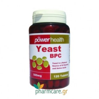 Power Health Yeast BPC 120tabs