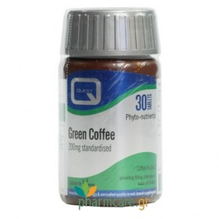 Quest Green Coffee 200mg 30tabs
