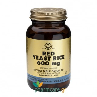 Solgar Red Yeast Rice Extract 600mg