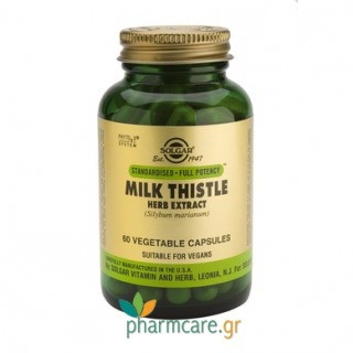 Solgar Milk Thistle Herb & Seed Extract