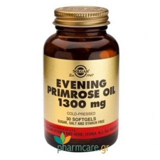 Solgar Evening Primrose Oil 1300mg softgels 30s