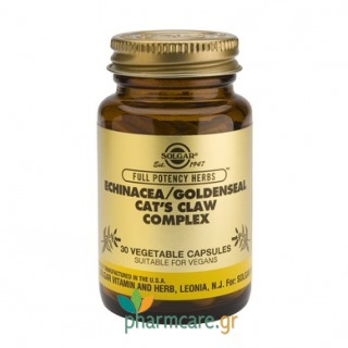 Solgar Echinacea - Goldenseal - Cat's Claw Complex vcaps 30s