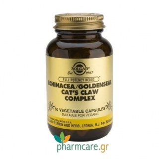 Solgar Echinacea - Goldenseal - Cat's Claw Complex vcaps 60s