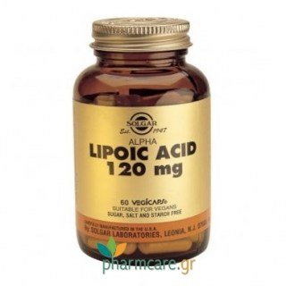 Solgar Alpha Lipoic Acid 120mg veg.caps 60s