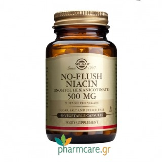 Solgar No-Flush Niacin 500mg