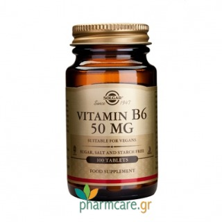 Solgar Vitamin B-6 50mg