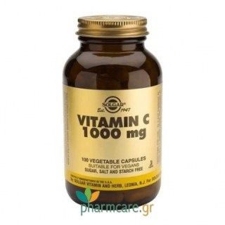 Solgar Vitamin C 1000mg veg.caps 100s