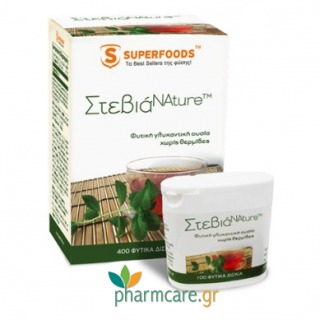 Superfoods ΣτεβιάNature™ 50mg 100 Δισκία